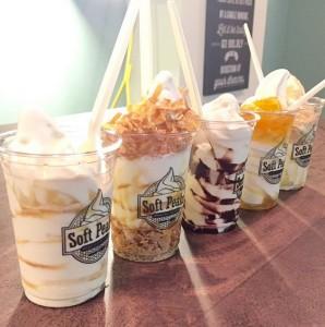 バンクーバーのソフトクリーム屋さん